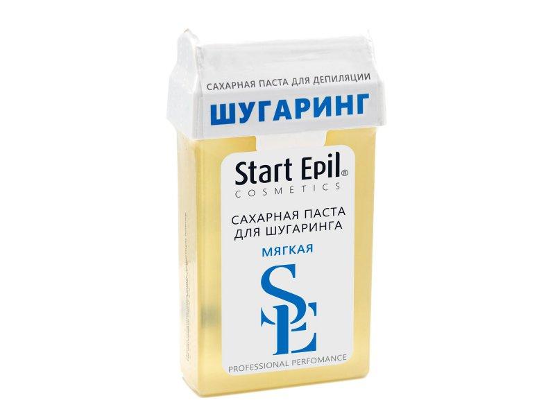 """Паста для шугаринга в картридже Start Epil """"Мягкая"""" 100 г  Применение"""