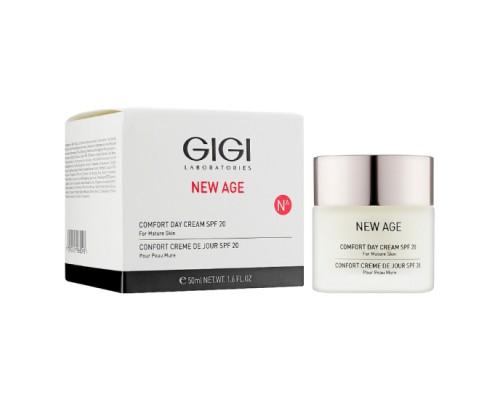 Крем-комфорт дневной защитный Gigi NEW AGE Comfort Day Cream SPF 20 50 мл