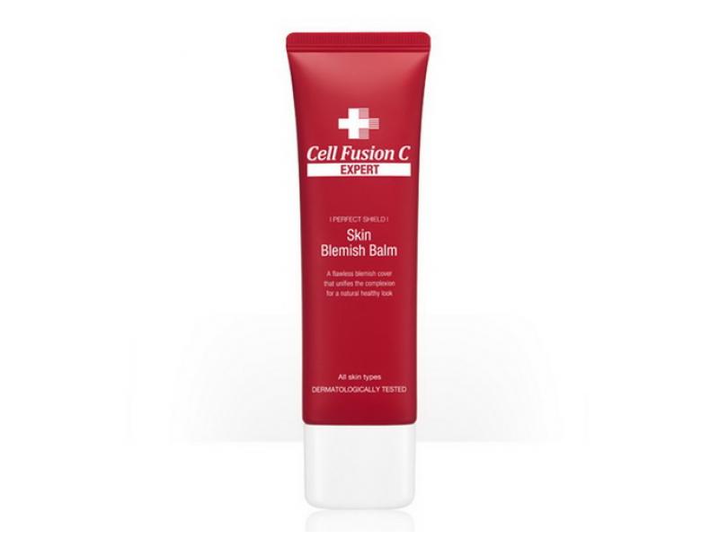 Бальзам для экстра чувствительной кожи лица Cell Fusion C Expert Skin Blemish Balm 50 МЛ  Применение
