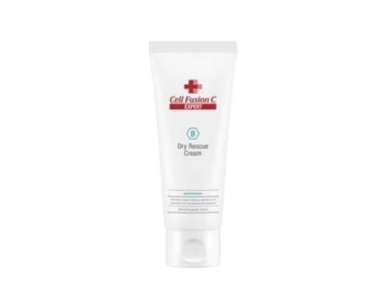 Влагосберегающий крем для сухой кожи Cell Fusion C Expert Dry Rescue Cream 100 МЛ  Применение