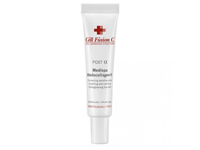 Восстанавливающая сыворотка для лица с витамином К Cell Fusion C Medispa Atellocollagen 20 МЛ  Применение