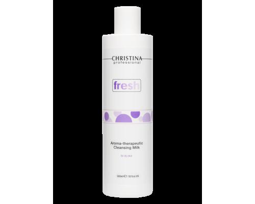 Ароматерапевтическое очищающее молочко для сухой кожи 300 мл Fresh Aroma Therapeutic Cleansing Milk for dry skin