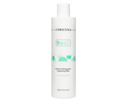 Ароматерапевтическое очищающее молочко для жирной кожи 300 мл Fresh Aroma Therapeutic Cleansing Milk for oily skin