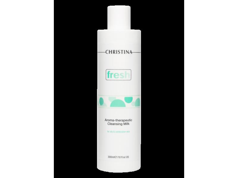 Ароматерапевтическое очищающее молочко для жирной кожи 300 мл Fresh Aroma Therapeutic Cleansing Milk for oily skin  Применение