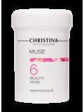 Маска красоты с экстрактом розы (шаг 6) 250 мл Muse Beauty Mask  Применение
