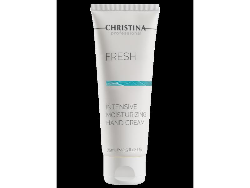 Интенсивно увлажняющий крем для рук 75 мл Fresh Intensive Moisturizing Hand cream  Применение