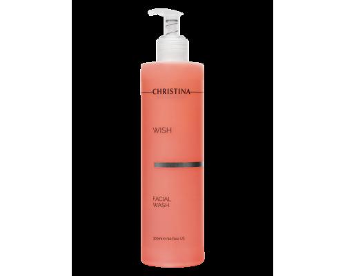 Гель для умывания 300 мл Wish Facial Wash