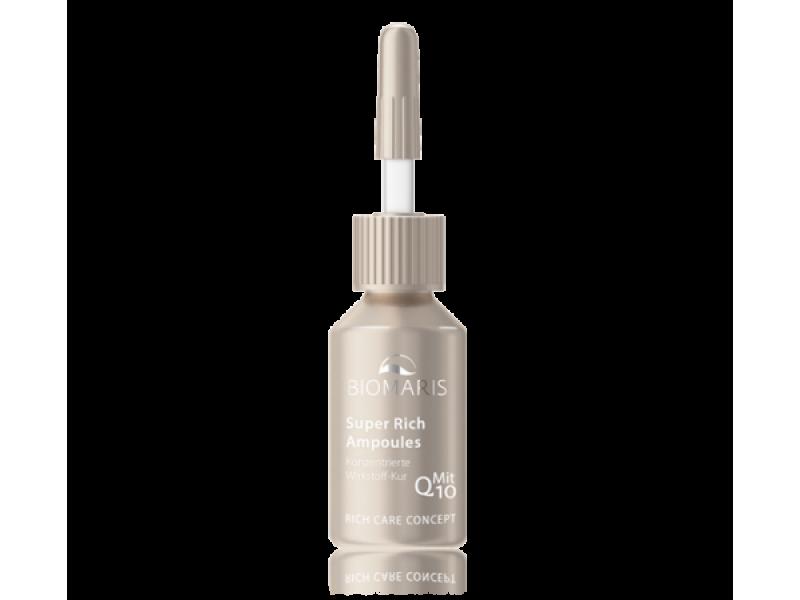 Biomaris Сыворотка для лица с коэнзимом Q10 Super Rich Ampoules