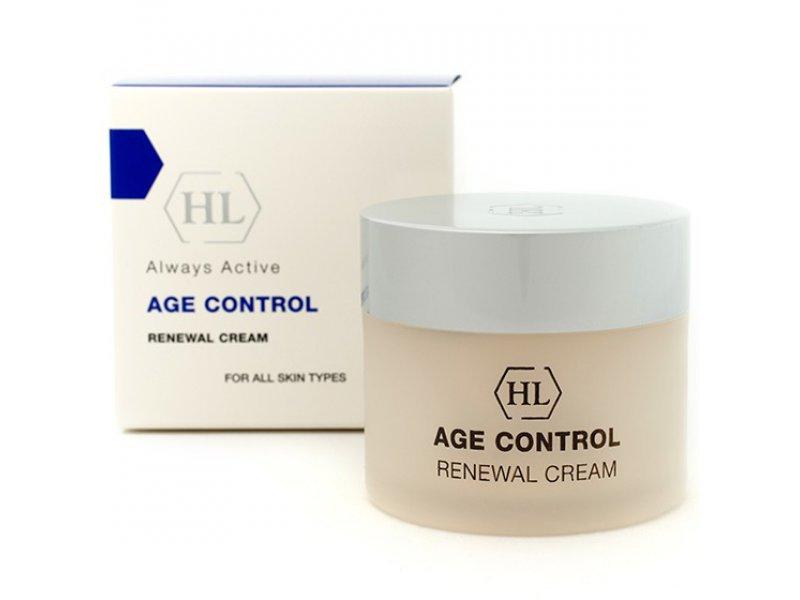 AGE CONTROL Renewal Cream - Обновляющий крем, 50 мл  Применение