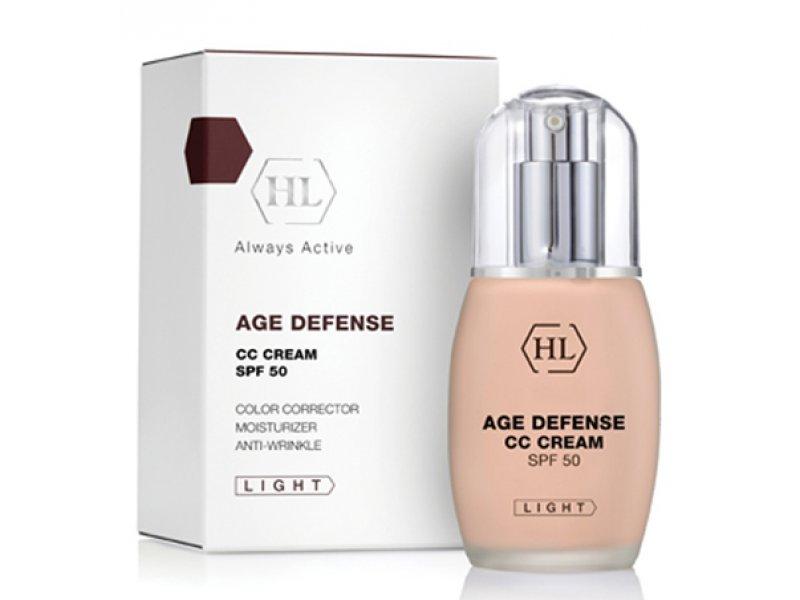 Корректирующий крем AGE DEFENCE CC Cream Light 50 мл  Применение