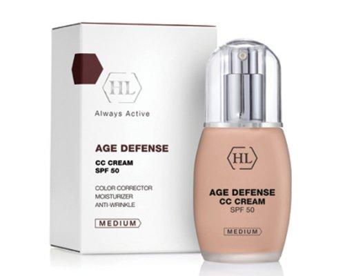 AGE DEFENCE CC Cream Medium - Корректирующий крем, 50 мл
