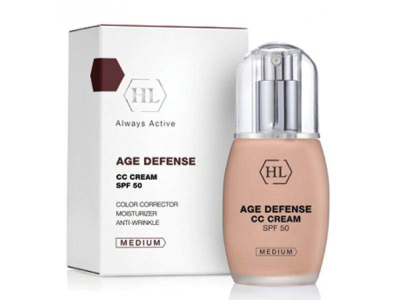Корректирующий крем AGE DEFENCE CC Cream Medium 50 мл  Применение