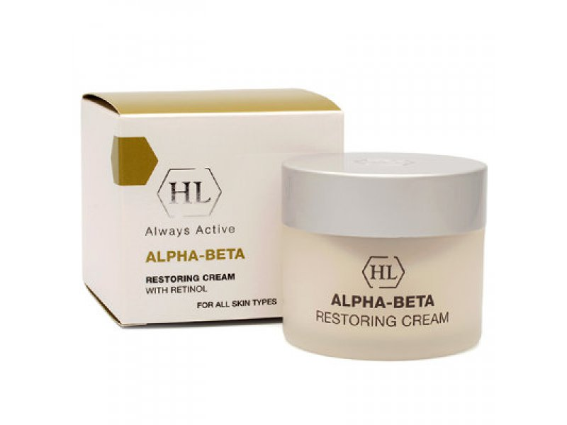 ALPHA-BETA Restoring Cream - Восстанавливающий крем, 50 мл  Применение