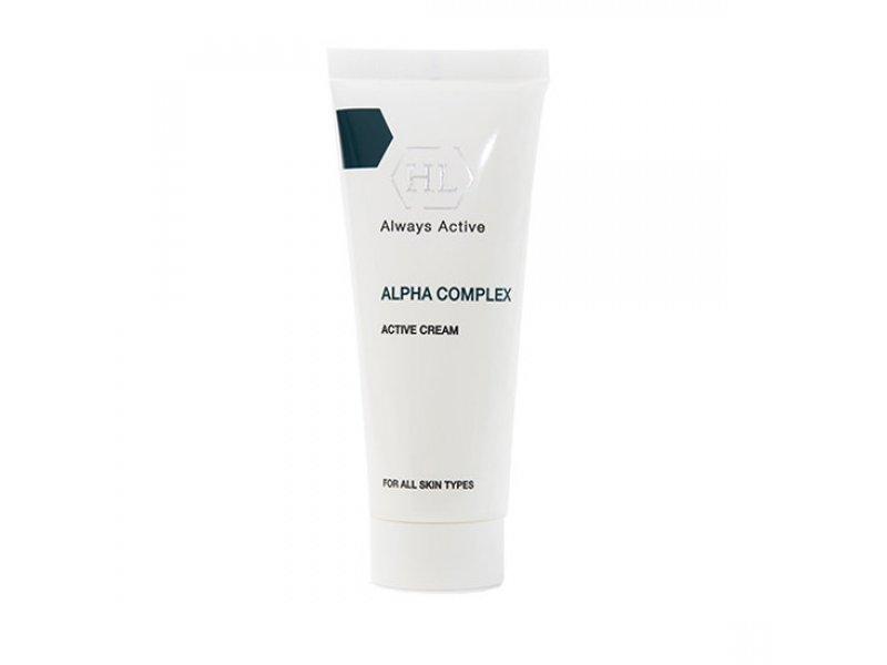 ALPHA COMPLEX Active Cream - Активный крем, 70 мл  Применение