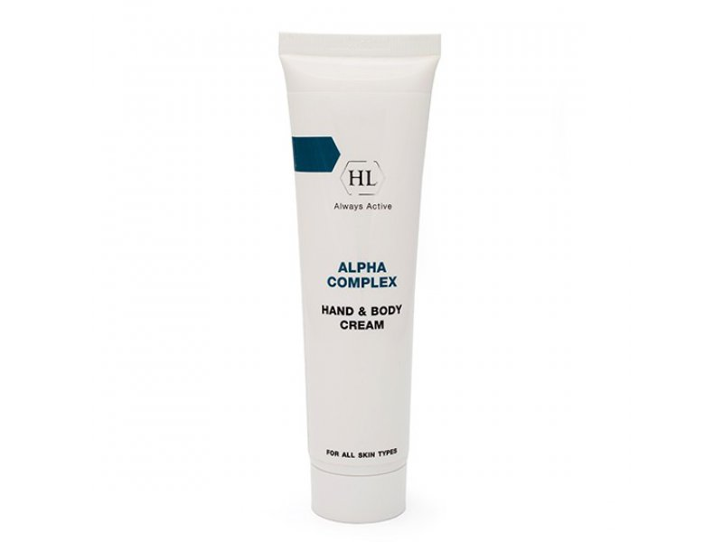 ALPHA COMPLEX Hand & Body Cream - Крем для рук и тела, 100 мл  Применение
