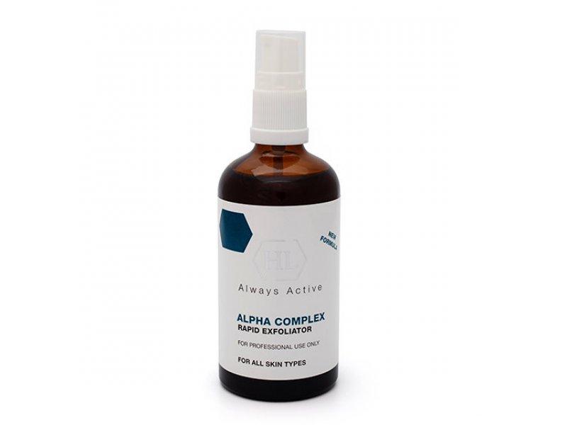 Химический пилинг ALPHA COMPLEX Rapid Exfoliator 100 мл  Применение