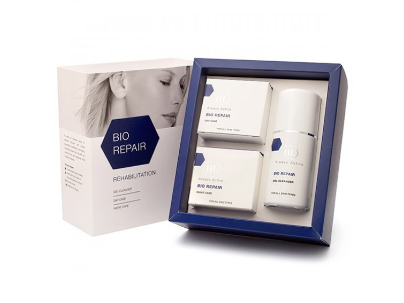 BIO REPAIR Kit (gel 125, day care 50, night care 50) Набор  Применение
