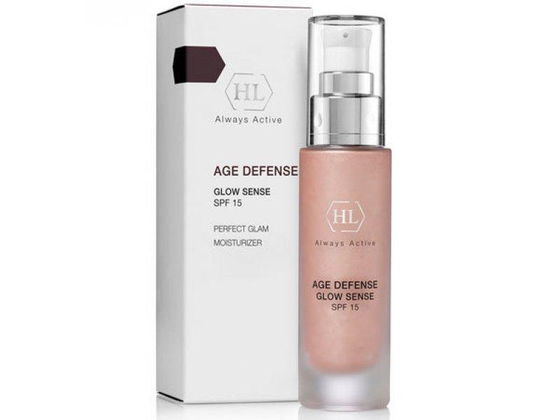 AGE DEFENSE Glow Sense SPF15 - Крем с декоративным эффектом, 50 мл  Применение