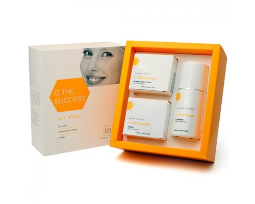 C the SUCCESS Kit (cleanser 125, intensive day cream 50, cream 50) Набор