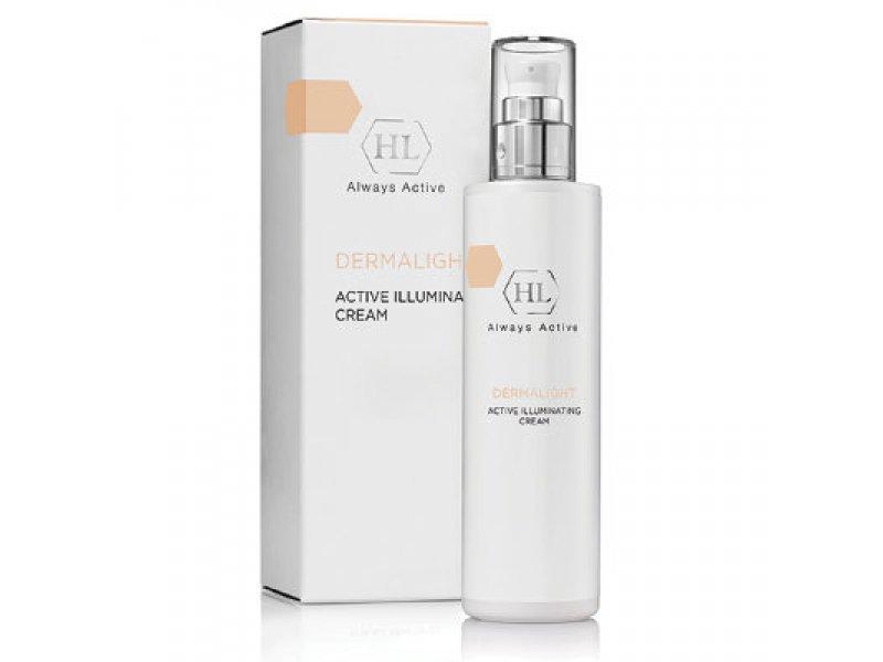 Осветляющий крем DERMALIGHT Active Illuminating Cream 50 мл  Применение