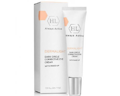 Осветлящий крем с тоном DERMALIGHT Dark Circle Corrective Eye Cream Make-Up 15 мл
