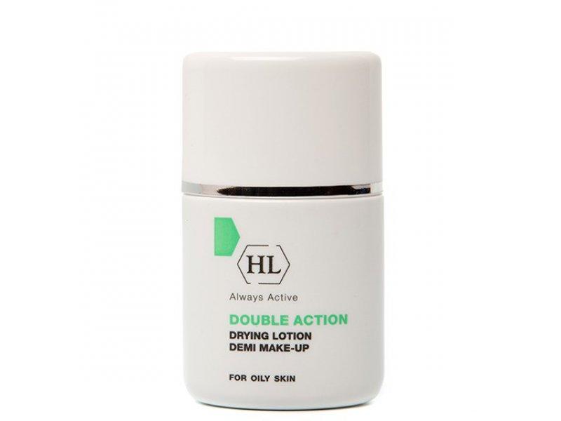 Суспензия с тоном DOUBLE ACTION Drying Lotion Demi Make-Up 30 мл  Применение