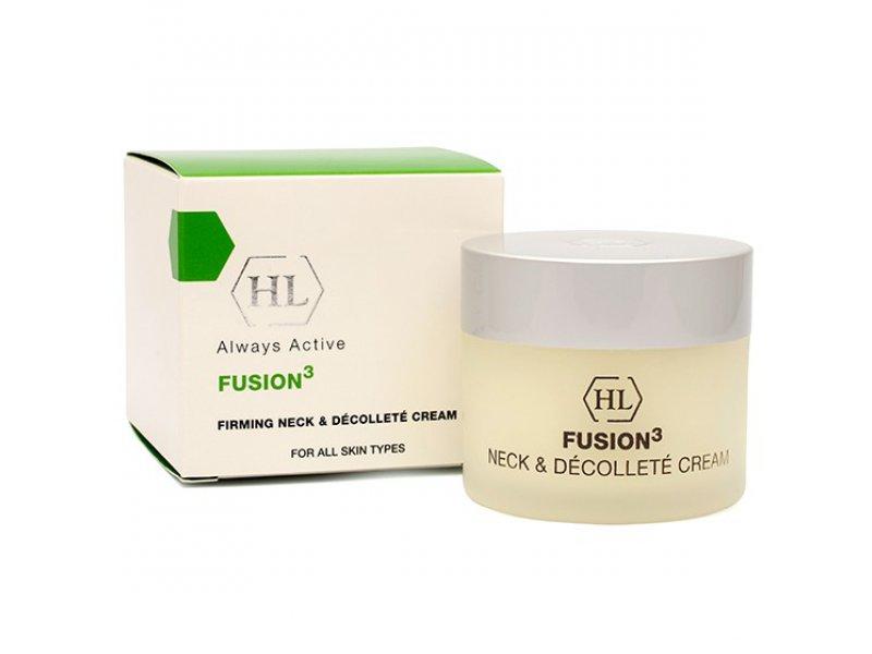 Крем для шеи и декольте FUSION3 Firming Neck & Decollete Cream 50 мл  Применение