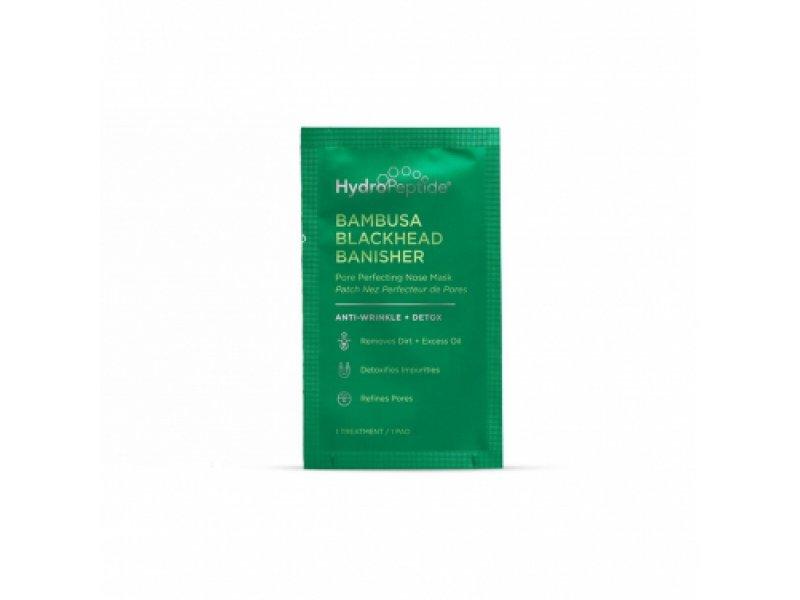 HydroPeptide Bambusa Blackhead Banisher - Поросуживающая очищающая маска против черных точек с экстрактом бамбука и вулканическим пеплом (8шт)  Применение
