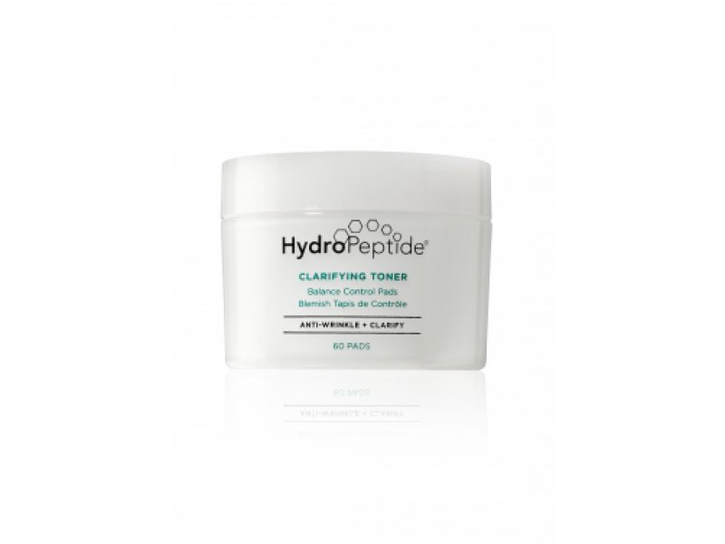 HydroPeptide Clarifying Toner - Очищающий лосьон с молочной и азелаиновой кислотами, 60 дисков  Применение