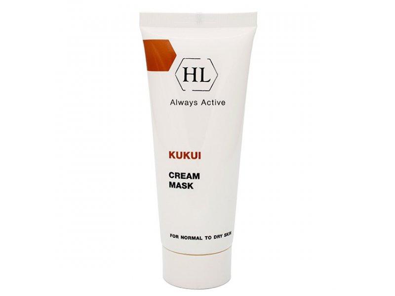 KUKUI Cream Mask for dry skin Питательная маска  Применение