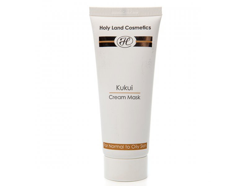 Сокращающая маска KUKUI Cream Mask for oily skin  Применение