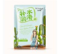 Bioaqua Natural Extract Увлажняющая маска с экстрактом кактуса, 30 г