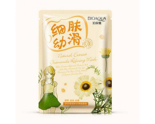 Очищающая маска с экстрактом ромашки Bioaqua Natural Extract, 30гр