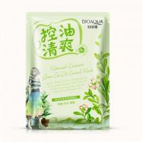 Bioaqua Natural Extract Освежающая маска с маслом чайного дерева, 30 г