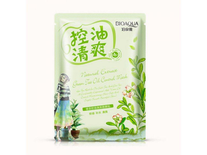 Bioaqua Natural Extract Освежающая маска с маслом чайного дерева, 30 г  Применение