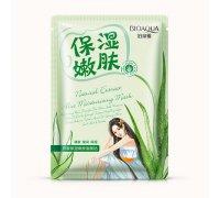 Bioaqua Natural Extract Успокаивающая маска с экстрактом алоэ, 30 г
