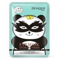 Bioaqua Hydra Nourish Тканевая маска для кожи вокруг глаз снимающая усталость, 15 г