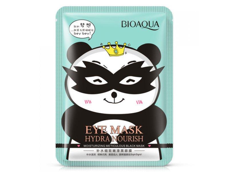 Bioaqua Hydra Nourish Тканевая маска для кожи вокруг глаз снимающая усталость, 15 г  Применение