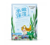 Bioaqua Natural Extract Омолаживающая маска с морскими водорослями, 30 г
