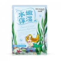 Омолаживающая маска с морскими водорослями Bioaqua Natural Extract, 30гр