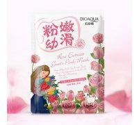 Отбеливающая маска с козьим молоком и экстрактом из розы Bioaqua Natural Extract, 30гр