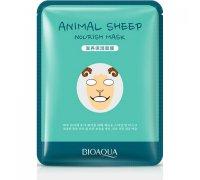Bioaqua Animal Face Sheep Осветляющая маска, 30 г