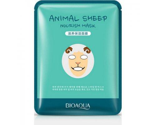 Осветляющая маска Animal Face Sheep, 30гр