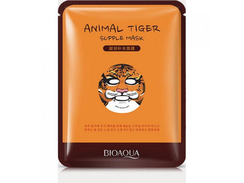 Bioaqua Animal Face Tiger Питательная маска для лица, 30 г  Применение