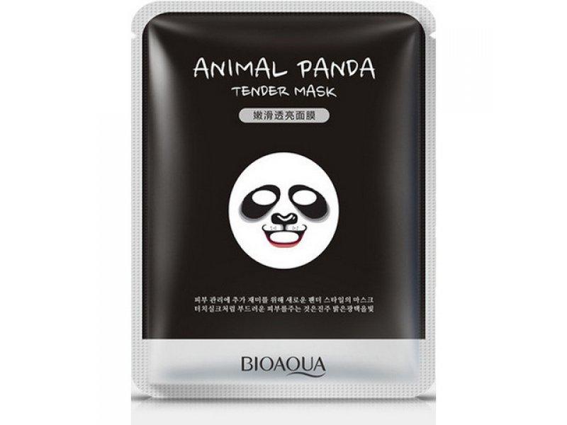 Bioaqua Animal Face Panda Смягчающая маска, 30 г  Применение