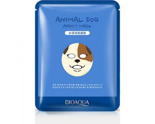 Увлажняющая маска Bioaqua Animal Face Dog, 30гр