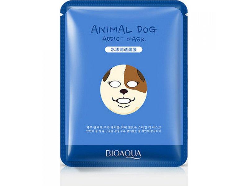 Увлажняющая маска Bioaqua Animal Face Dog, 30гр  Применение