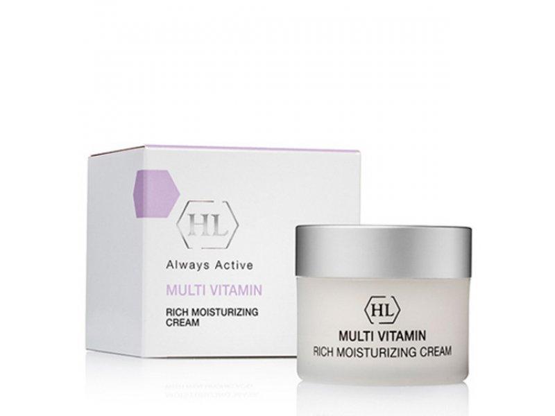 Увлажняющий крем Multivitamin Rich Moisturizing Cream 50мл  Применение