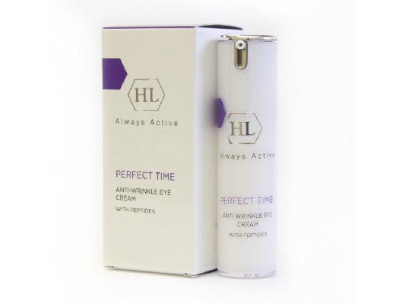 Укрепляющий крем для век PERFECT TIME Anti Wrinkle Eye Cream 15 мл  Применение