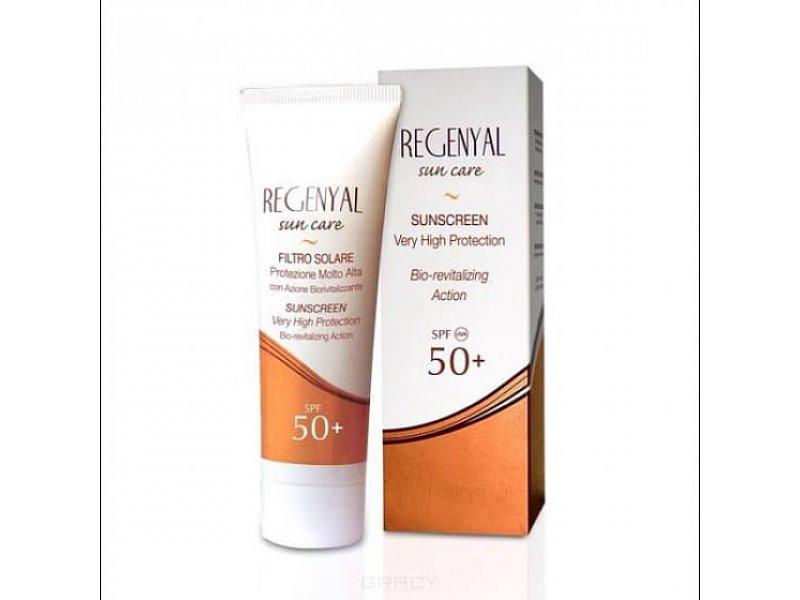 Солнцезащитный крем Regenyal Filtro Solare sun care SPF 50+ 50 мл  Применение